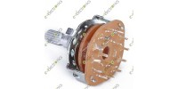 3 Pole 4 Position Rotary Switch