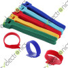Reusable Nylon Strap Hook And Loop Cable Cord Ties Red