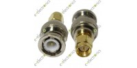 SMA Male to BNC Male Connector