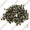 Black Gold Tone Soldering PCB Board Breadboard Test Point Pin