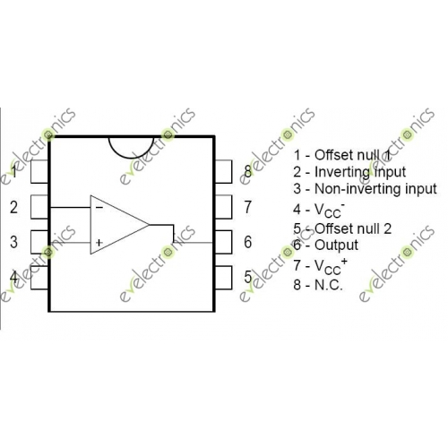 tl071cp single operational amplifier original usa   eve
