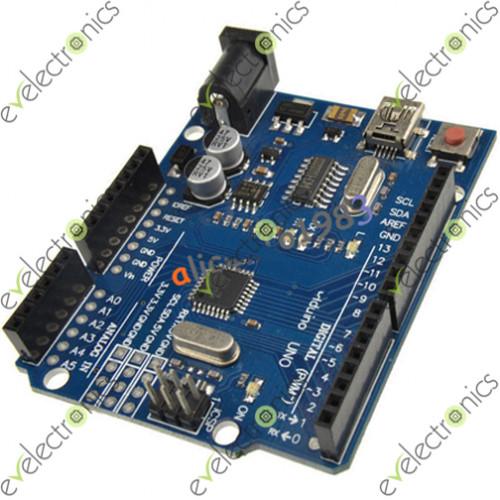Uno r atmega p ch mini usb board for compatible arduino