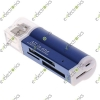 Compact 4 in 1 High-speed Memory Card Reader 662