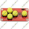 AD Keyboard Electronic Blocks Simulate Five Key Button