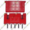 5Pin XH 2.54 Straight Connector Red