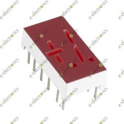 Plus Minus One 5-Segment CA Red (1x1.9cm)