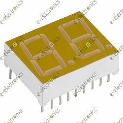 2-Digit 7-Segment CC Red (2.5x2cm)