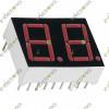 2-Digit 7-Segment CA Red (2.5x2cm)