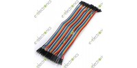Dupont 40-Wire 20cm Cable Line color Male to Female Pin Connector