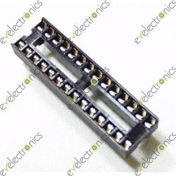 28 Pin Flat Base (Slim)