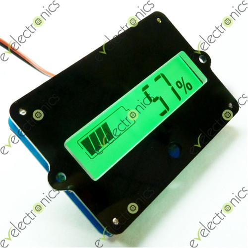12v Lead Acid Lithium Lipo Battery Capacity Indicator Lcd