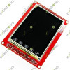 "3.2"" TFT LCD Module Touch Panel PCB Adapter with SD Socket E100"