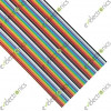 40 Wire Multicoloured AWG26 Ribbon Cable (Per Foot)