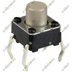Tactile Tact Push Button Switch 6X6X7mm 4-pin DIP