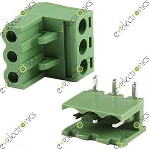 Block Connector 2edgk L Type 3pos 5 08mm 300v 15a