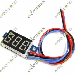 DC 0-99.9V .36 inche LED Digital Panel Voltmeter 3 Wires Red