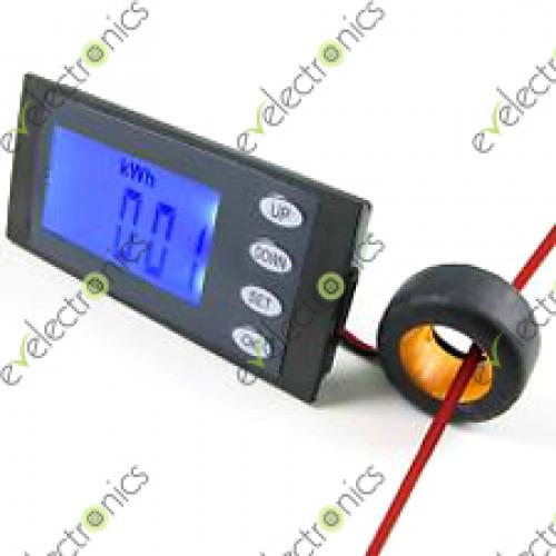 Ammeter Vs Voltmeter : A v ac digital lcd voltmeter ammeter kwh time watt
