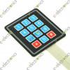 PVC Flexible Keypad 4x3