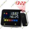 LCD Digital LED Projector Projection Alarm Clock Weather Station Calendar