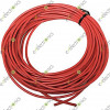 PVC insulation Jumper wire Red 27AWG .8mm (Per Meter)