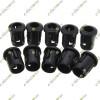 5mm LED Holder Display Panel Case Black Plastic