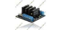 4-Channel 5V Omron G3MB-202P SSR Solid State Relay Module With fuse