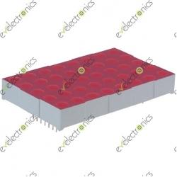 5x8 Matrix RED (3.7x6cm)