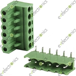 BLOCK Connector 2EDGK L-Type 6POS 5.08MM 300V 15A