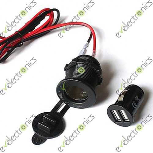 Mobile phone charger for motorcycle - 70Charger 1 500x500