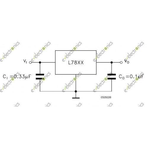 l7805cv positive voltage regulator