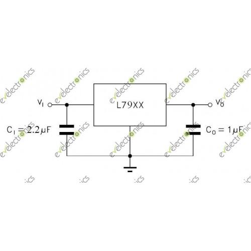 l7905cv negative voltage regulator to