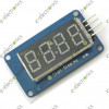 4 Bits Digital Tube LED Display Module With Clock Display TM1637