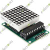MAX7219 Dot matrix module MCU control LED Display