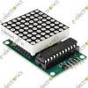 MAX7219 Dot matrix module MCU control LED Display