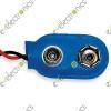 9 Volt Battery Connector Blue