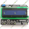 16x2 LCD Board Keypad Shield Blue Backlight For Arduino LCD Duemilanove Robot