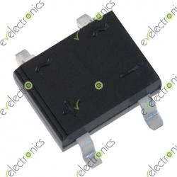 MB6S MB6F 0.5A 600V Miniature Mini SMD Bridge Rectifier