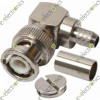 BNC Male Crimp Right Angle for RG58