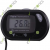 LCD Digital Fish Aquarium Water Thermometer Black