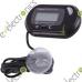 LCD Digital Fish Aquarium Water Thermometer Black
