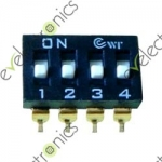 7 positions Dip Switch