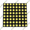 8x8 Matrix Yellow (4.7x4.7cm)