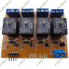 4-Channel 12V Opto Isolated Relay Board