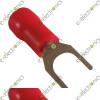 Crimp lugs  U-Type 1.5mm (Red)