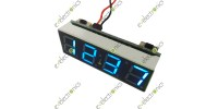 0.40 inches Digital Clock DC 12V 24V Blue LED