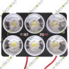 High Power LED 6W with heat sink