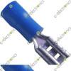 Crimp Female Spade Terminal Connector 2.5mm (Blue)