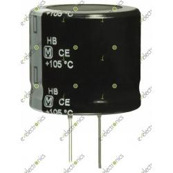 33uF 200V Polar Radial Electrolytic Capacitor