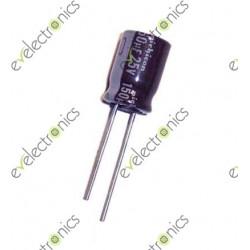 10uF 25V Polar Radial Electrolytic Capacitor