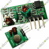 315Mhz RF transmitter and receiver link kit